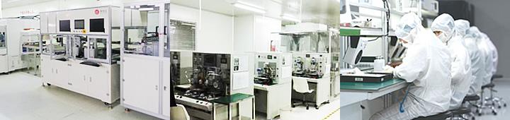 TFT液晶モジュール組立イメージ