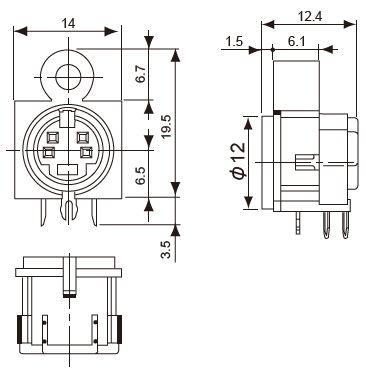 Dx-176J-201_outsidedimmension